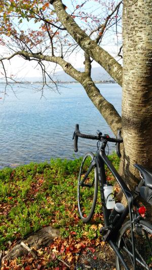 海津大崎、奥琵琶湖の景観