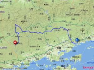 2011GW片上鉄道中国山地map