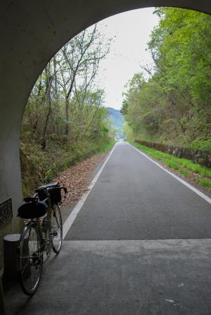 片上鉄道跡サイクリングロード