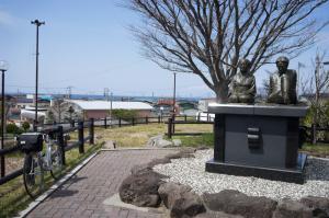太宰治と子守の「たけ」再会像:「津軽」の世界