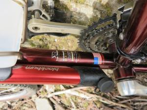 TREK970SHX 米国トゥルーテンパー社製クロモリ