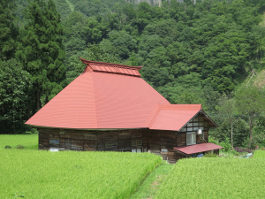秋山郷の民家