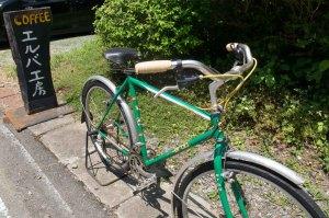 エルバの自転車、初期のXTRちょい乗り仕様