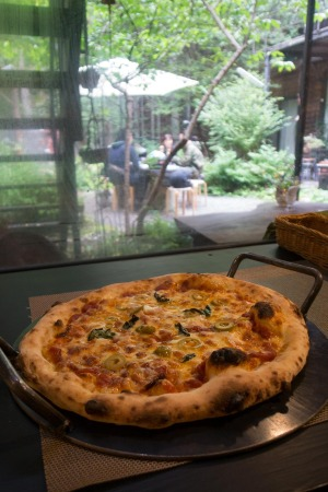 エルバのピザ