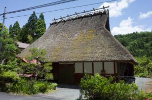 京都北山の民家