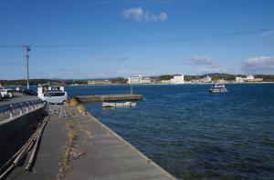 渡鹿野島渡船