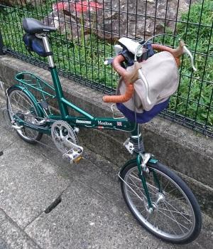 一澤信三郎帆布 自転車カバン