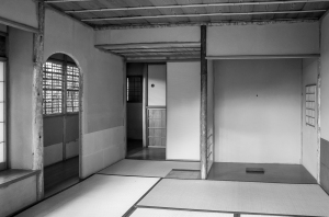旧邸御室の茶室